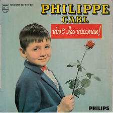 "7"" FRENCH EP 45 TOURS PHILIPPE CARL ""Bonne Fête Maman +3"" 1965 PAUL PIOT"