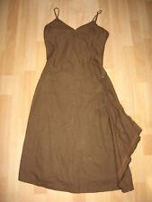 CAPTAIN TORTUE - Robe en lin marron - T. 38