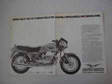 advertising Pubblicità 1983 MOTO GUZZI 850 T5 T 5