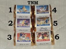 @*30 PERSONALIZED DISNEY WEDDING CANDY WRAPPER/ HERSHEY NUGGET FAVORS  LABELS *@