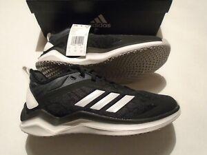 NIB adidas Speed Trainer 4 Men's Size 11 Training Shoes CG5131 Black Baseball