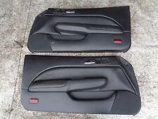 honda prelude 2.0 vtec 96-01 BB5 mk5 interior door cards trims black pair