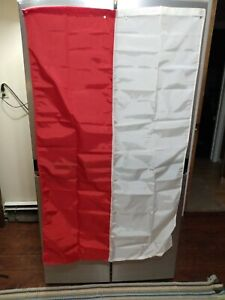 Polish Flag - 3x5 - Nylon - Red & White