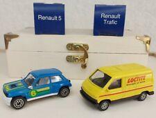 Vintage CORGI Renault Die Cast Model Bundle Renault 5 Turbo & Traffic * MINT *