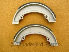 Brake Shoes, Triumph/BSA, 7 inch, Pair, Conical Hub, Rear, 37-3925/6, 1971-1975