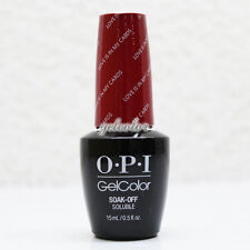 OPI GelColor Soak Off LED/UV Gel Nail Polish 0.5oz Love is in My Cards #HPG32