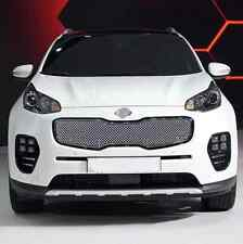 Honeycomb Style Front Grille Grill Mesh Cover For Kia Sportage 4th Gen 2016-2018