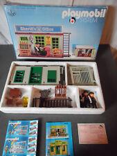 Vintage Playmobil Klicky Sheriff's Office Western Ref 3423