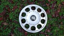 "SEAT LEON 15"" Inch Wheel Trim/Hub Cap Genuine x1 1M0601147C"