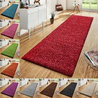 Non Slip Shaggy Thick Runner Rug Hall Hallway Runner Mats Bedroom Kitchen Carpet
