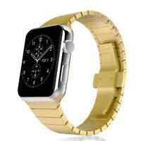 CoverKingz Apple Watch Series 4/3/2/1 Edelstahl Armband Metall 42mm/44mm gold