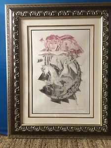 Dali III--by Alfred Gockel--Limited Edition Etching w/Aquatint--EXCELLENT COND
