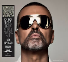 GEORGE MICHAEL CD x 2 Listen Without Prejudice / MTV Unplugged + Fantasy w/ NILE