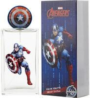 Avengers Captain America by Marvel for boys EDT 3.3 / 3.4 oz New in Box