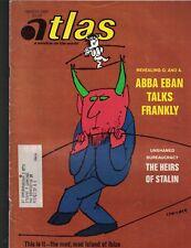 Atlas Magazine March 1969 Abba Eban Ibiza Trade Between Japan & China