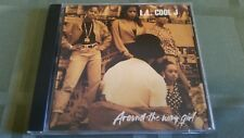 L.L. COOL J AROUND THE WAY GIRL 4 TRACK REMIX CD FREE SHIPPING