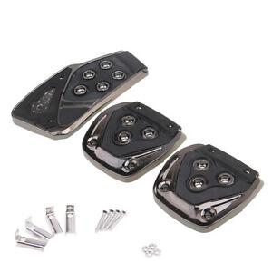 3Pcs/set Universal Fit Non-Slip Auto Brake Foot Pedal Pad Cover Car Accessories