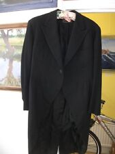 Vintage tails (Cash Stein, Havana), 2 sets of vintage tuxedos, and 2 more jacket