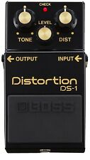 Boss ds-1 40th Anniversary Edition Black Distortion Pedal