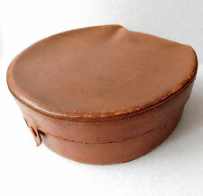 Harrods collar box Vintage leather luggage 1920s 1930s Good Quality & condition