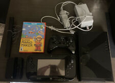 Nintendo Wii U 32GB Deluxe Console w/ GamePad WUP-101(02)Black with Super Mario