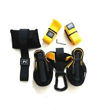 PRO Suspension Gymnastic Resistance Bands Cross-Fitness Trainer Set Similar TRX