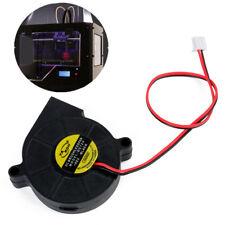 1pc DC 12V 50mm Blow Radial Cooling Fan Hotend / Extruder For RepRap 3D Printer