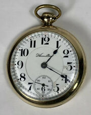 21J Level Set Gf Railroad Pocket Watch Vintage Hamilton Grade 940 Model 1 18s
