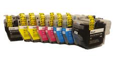 2 sets Compatible ink cartridges LC3219XL (8pcs)Printer:MFC J6930DW / MFC J6935D