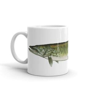 Muskellunge, Musky Coffee Mug, Fishing Mug, Fisherman Gift, Outdoorsman Gift