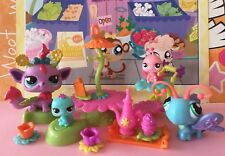 Littlest Pet Shop #2612 Glistening Garden Fairy Baby Playset