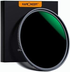 K&F Concept HD 62mm ND1000 ND Filter Neutral Density Nano-X MRC for Camera Lens