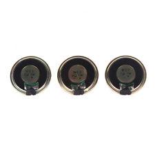 3 Pieces Round Micro Speaker Loudspeaker 30mm 8Ohm 8R 1W DIY Arduino Repair K