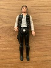 vintage star wars figures Han Solo, Smallhead.1977 First 12 - pin head