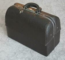 Vintage Schell Emdee Doctor Bag Shark Grain Model 59207 Doctors Medical Hospital