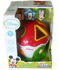 Disney Mickey Mouse Shape And Colours Shape Sorter Baby Toys 9+ months Brand New