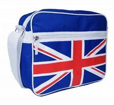 Union Jack Homme Bleu Sac De Voyage Business Satchel Cross Body épaule Bleu Sac