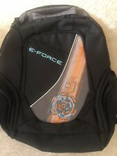 E-Force Backpack Brand new Lots Of Pockets For Racquets Glasses, W/ Glove Cord