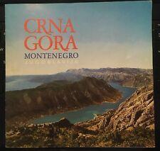 CRNA GORA Montenegro Jugoslavia Tourist Guide 1985 - Yugoslavia Titograd Tito