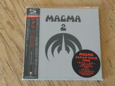 Magma: 2 (1001 Degrees) SHM Japan Mini-LP CD SJMD-8 w/Sticker(christian vander Q