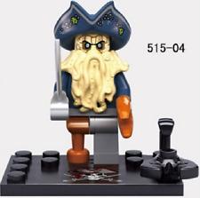 Pirates of the Caribbean Captain Davy Jones Minifigures Lego Compatible