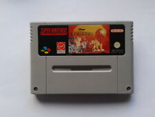 JUEGO SUPER NINTENDO SNES DISNEY LION KING REY LEON SOLO CARTUCHO PAL EUR