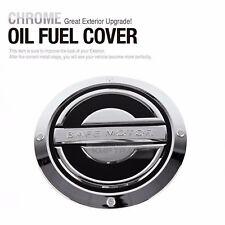 Chrome Fuel Door Cover Oil Cap Cover Trim for HYUNDAI 2006-2012 Santa Fe