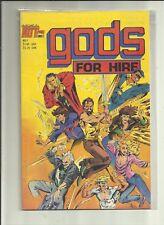 Gods for Hire  #1  .(1986) Hot Comics.