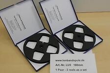 Tonbandspule/Tape Reel für Sony, Akai, Grundig, Teac 18 cm, 1 Paar , Art-Nr. LU3