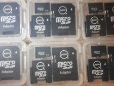 micro sd adapters with had case's 100 lot