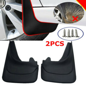 2PCS Car Mud Flaps Mudgurads Fender Dust Guards Protect Cover Vans RV + Screws