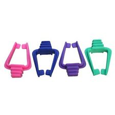 Pack Of 4 Universal Bird Cage Clips - Pieces James & Steel Holders Clasps Pet