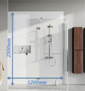Shower Wall Panel WHITE GLOSS Wet Wall Splashpanel UK's TOUGHEST PVC BOARDS