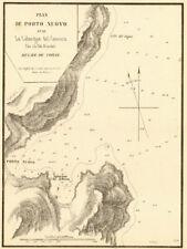 PORTO-NOVO. Porto Nuovo &... calangue del gionco. CORSE CORSICA. Gauttier 1851 C...